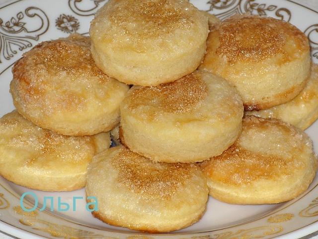 рецепт из сметаны печенья