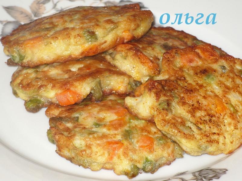 Оладьи из овощей рецепт