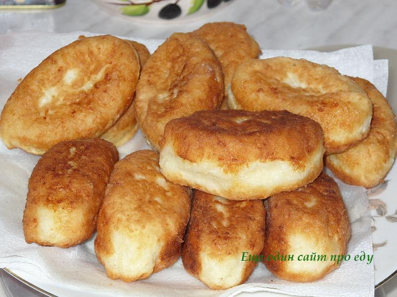 Рецепт жареные творожные пирожки